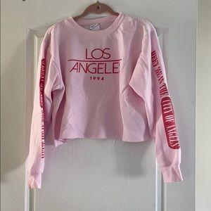 Cropped Los Angeles Crewneck